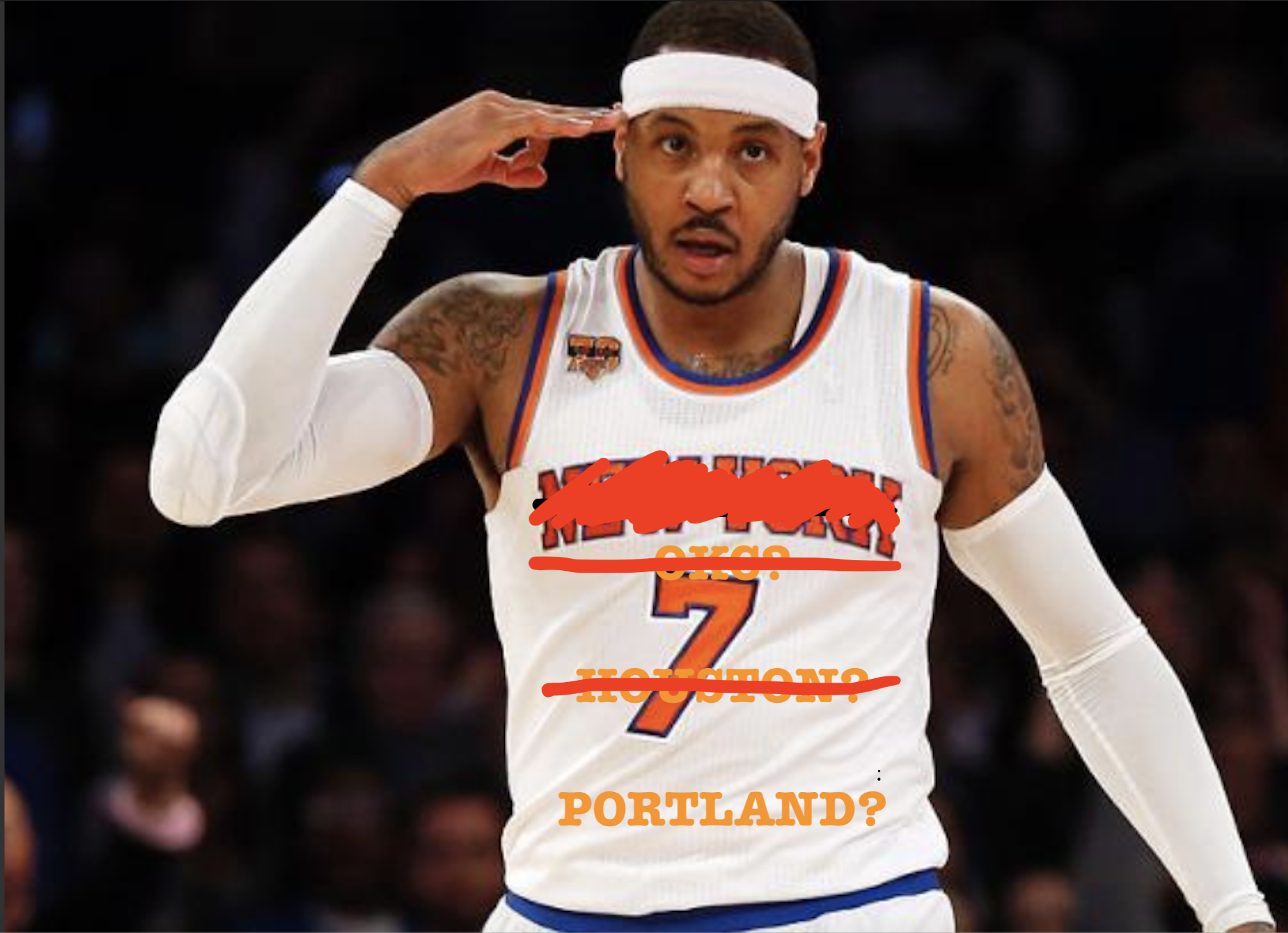 Comeback Carmelo