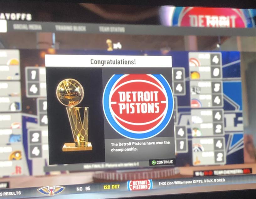 Detroit Pistons: 2k Rebuild