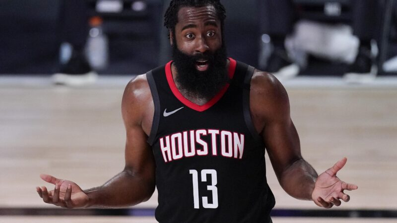 HARDEN TO THE PACERS